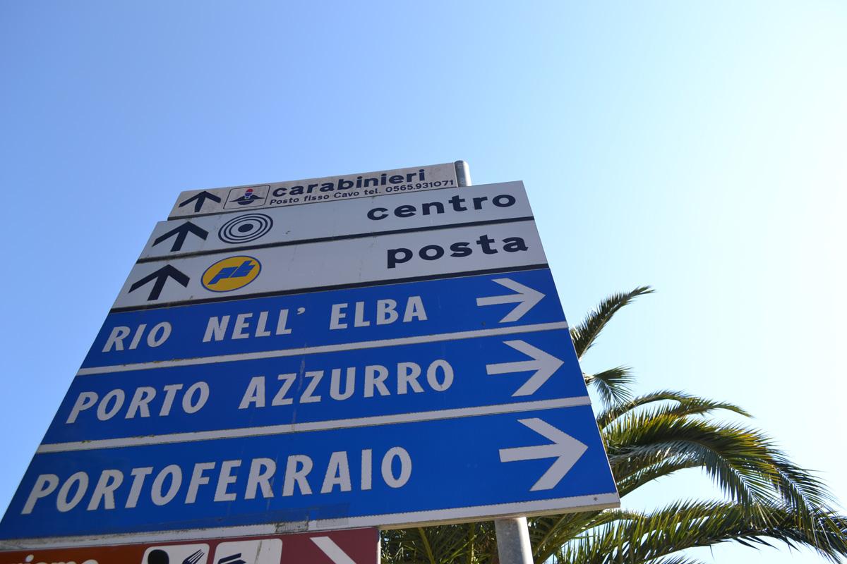 Street Sign Elba Island