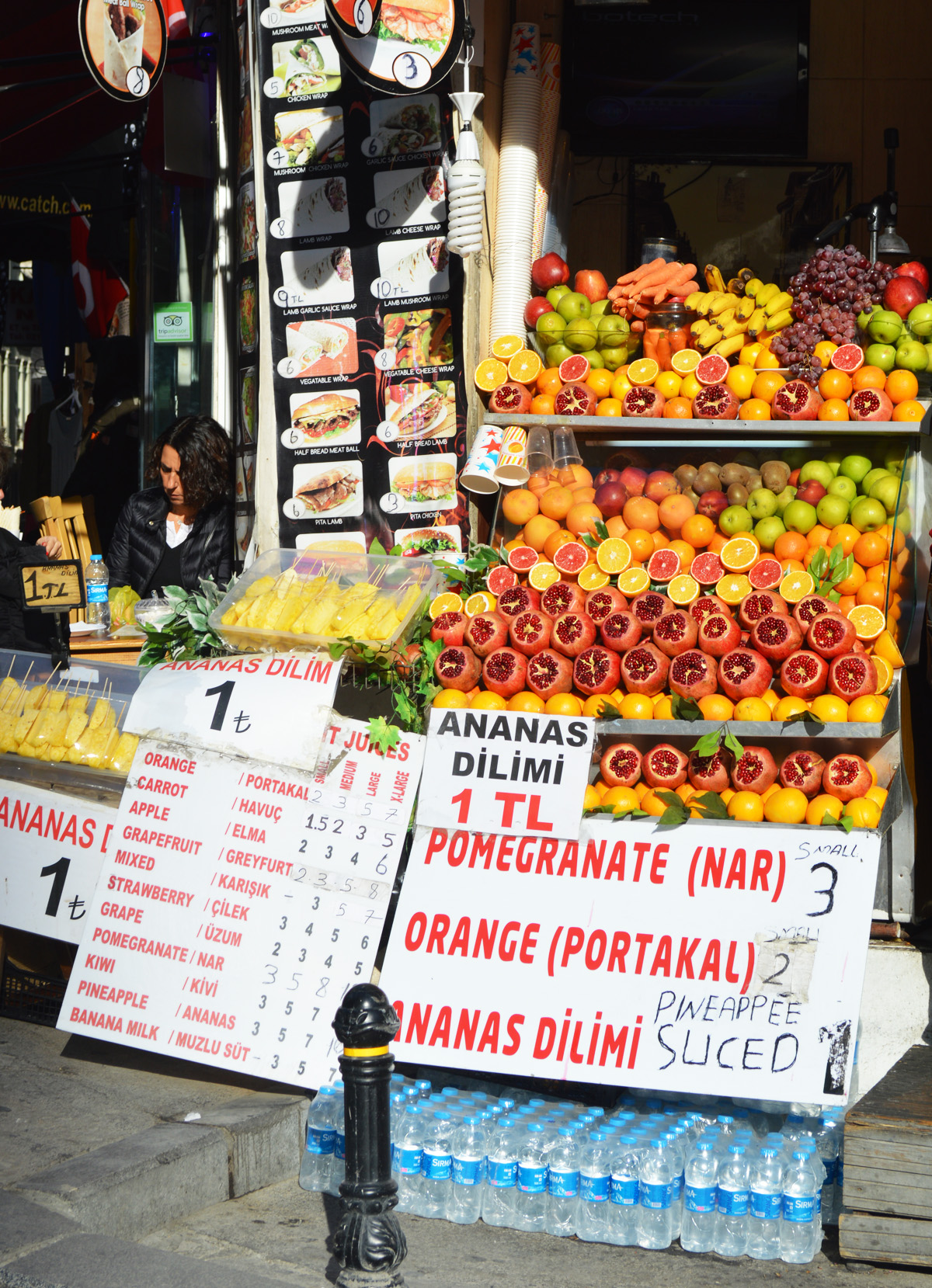 Fruit for Sale in Istanbul
