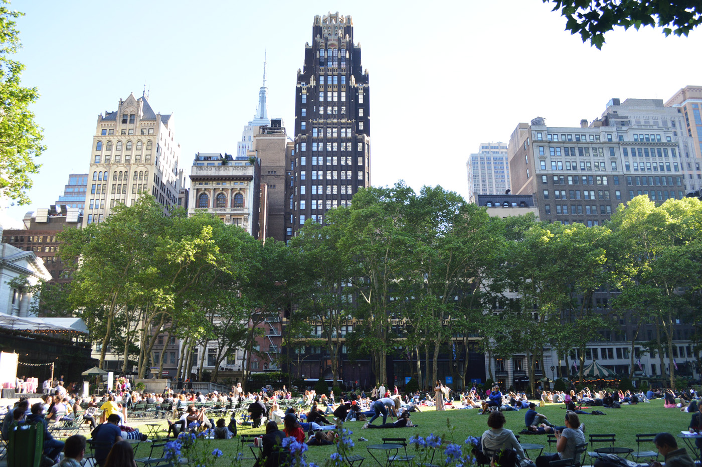 Bryant Park Grass Area