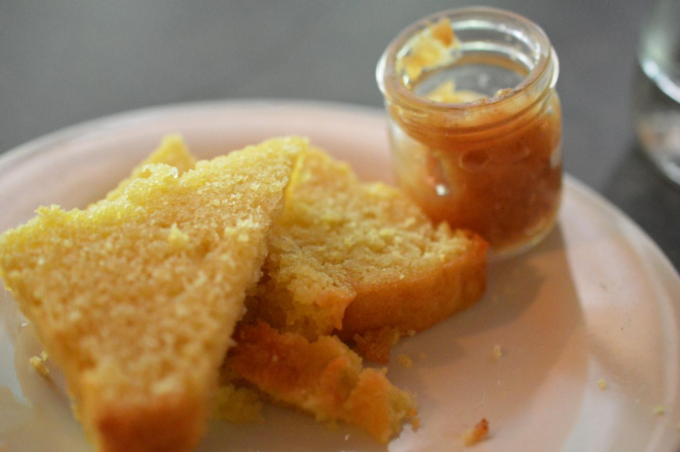 Friend of a Farmer Lemon Bread Apple Butter