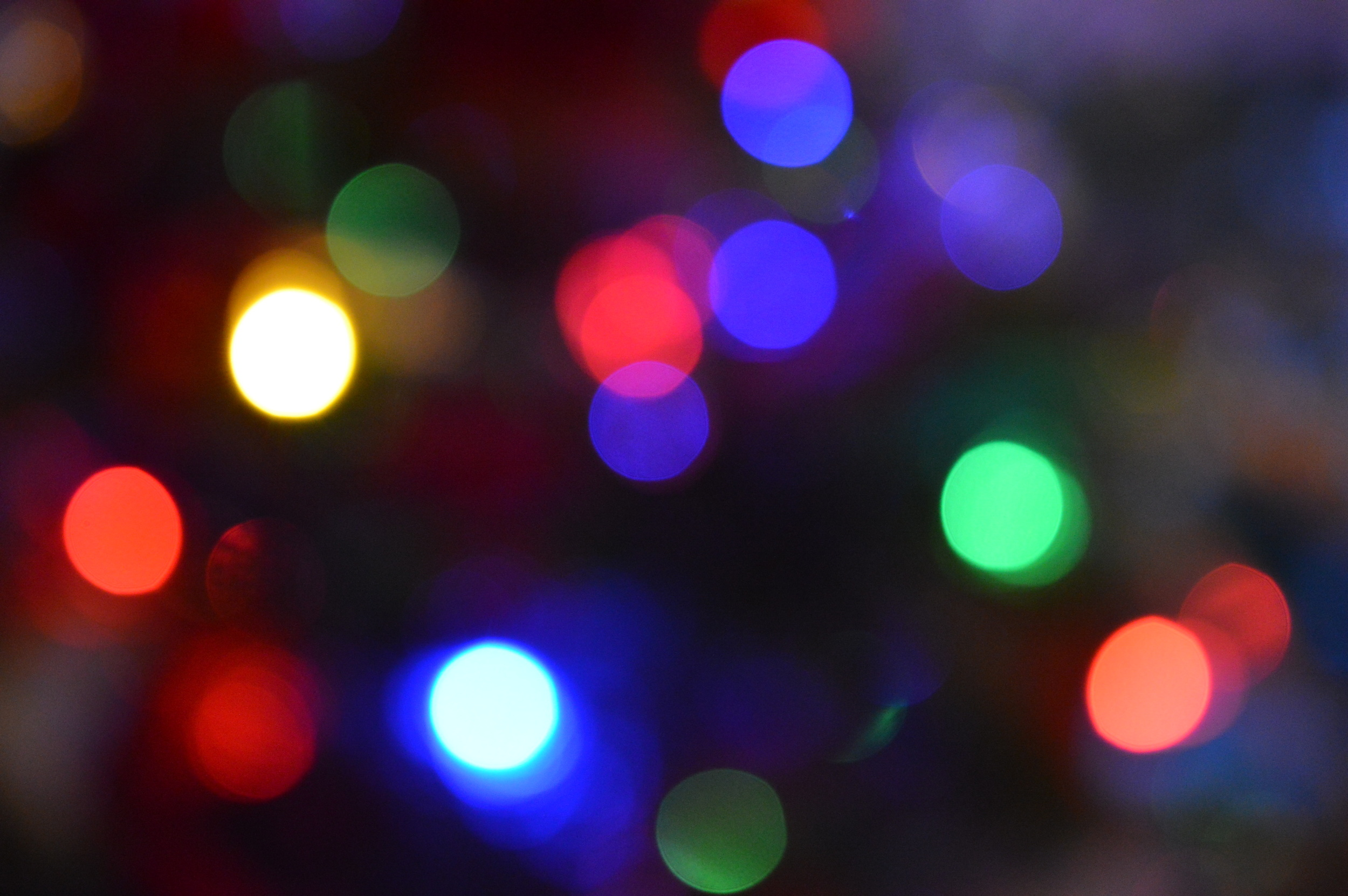 Christmas Lights - Macro Lens
