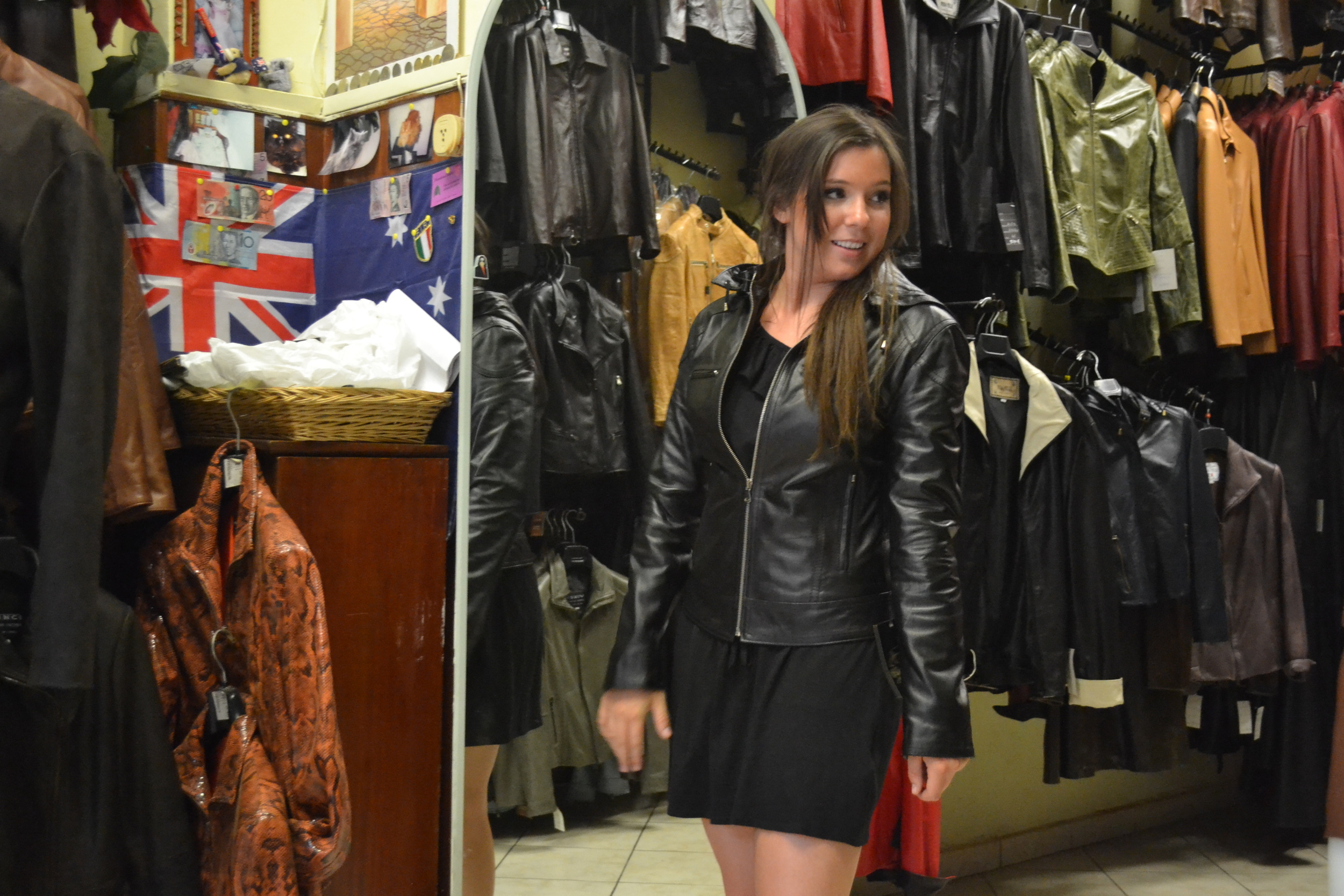 Leather jacket Italy