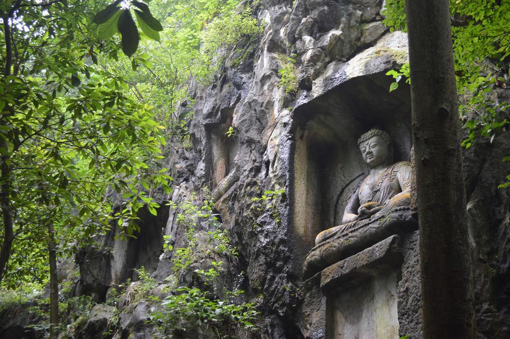 Hangzhou Buddha Rock Carving