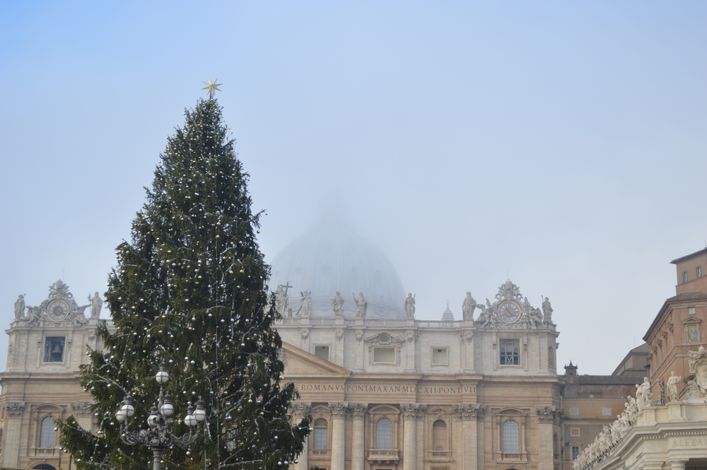 Vatican at Christmas