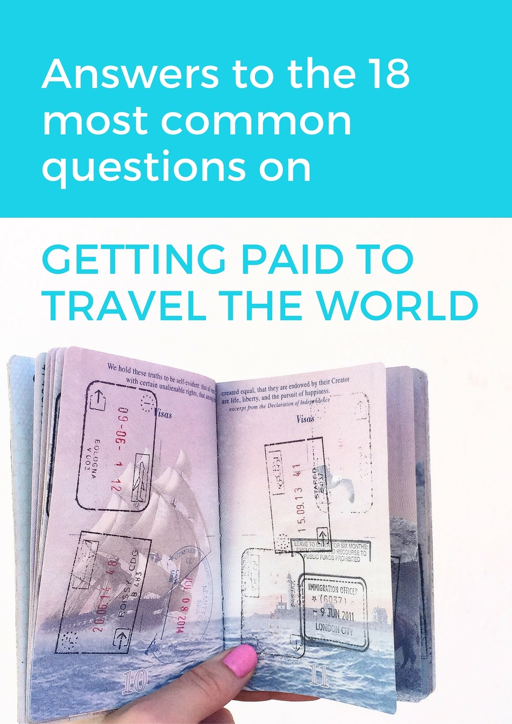 Want to get paid to travel? Make sure you know the answers to the most common questions on working while you travel!