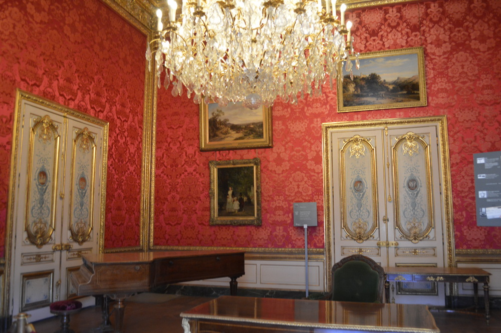 Napoleon III's rooms at The Louvre, Paris