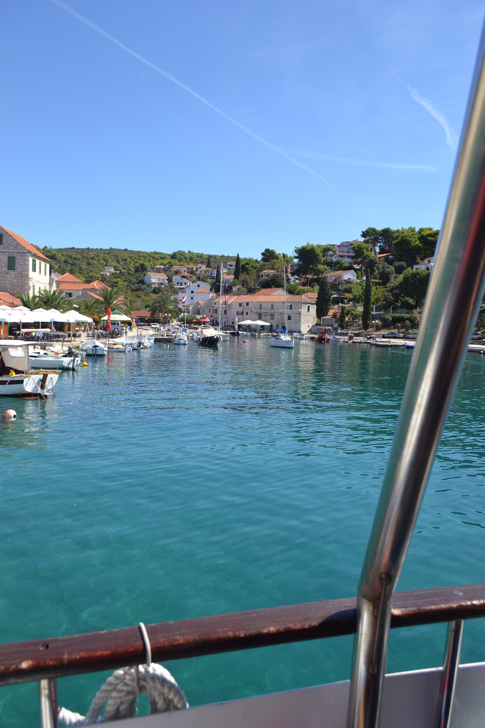 Boating around the Croatian islands
