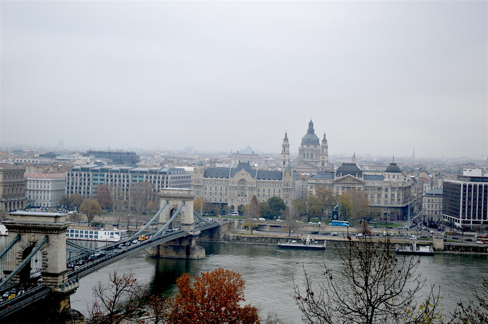 Budapest, Hungary in November