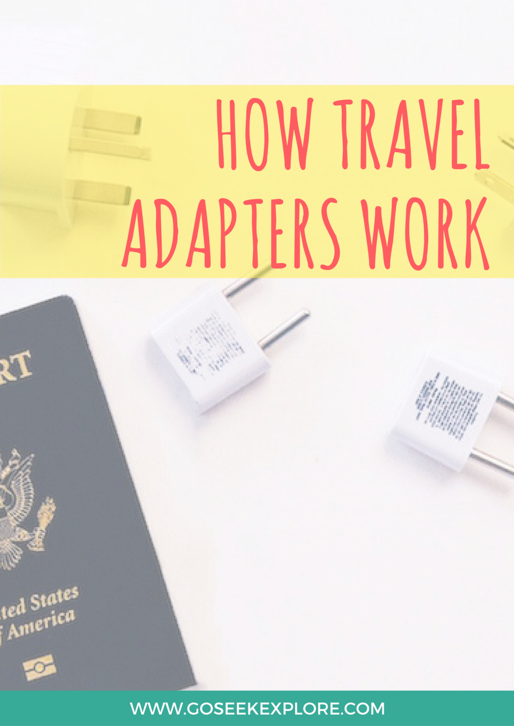 Confused on how travel adapters work so you can use your electronics while traveling internationally? This post and video tutorial goes over exactly what you need to know!