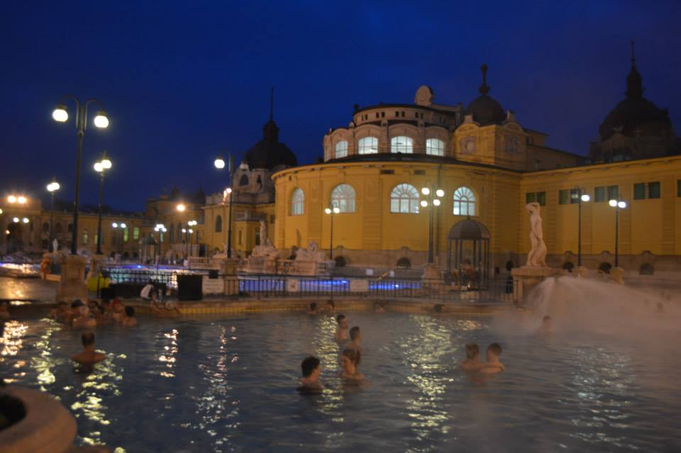 Budapest, Hungary thermal baths