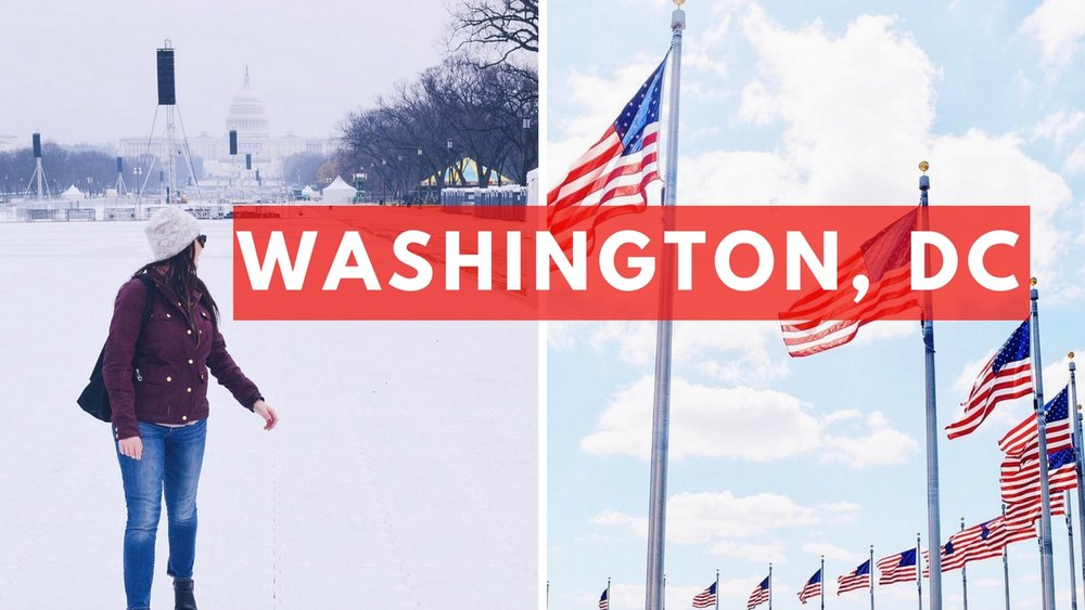 What it was like traveling to Washington, DC during Trump's inauguration to work an education conference plus traveling DC! Washington-DC-Travel-Vlog