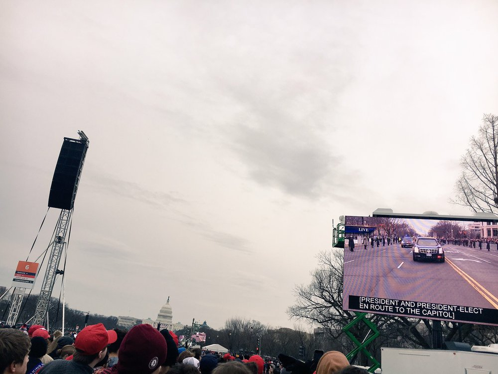 Inauguration 2017 in Washington, DC at the National Mall