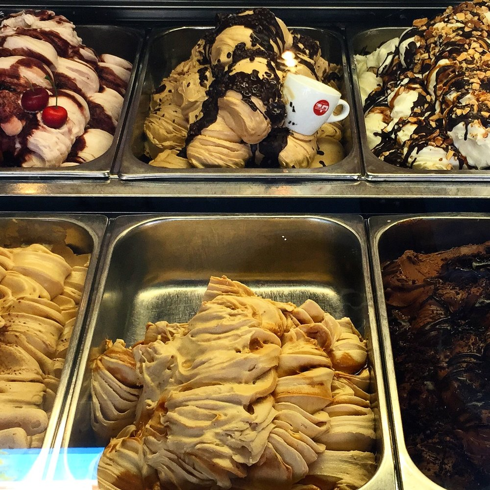 A food tour with gelato would be fun...