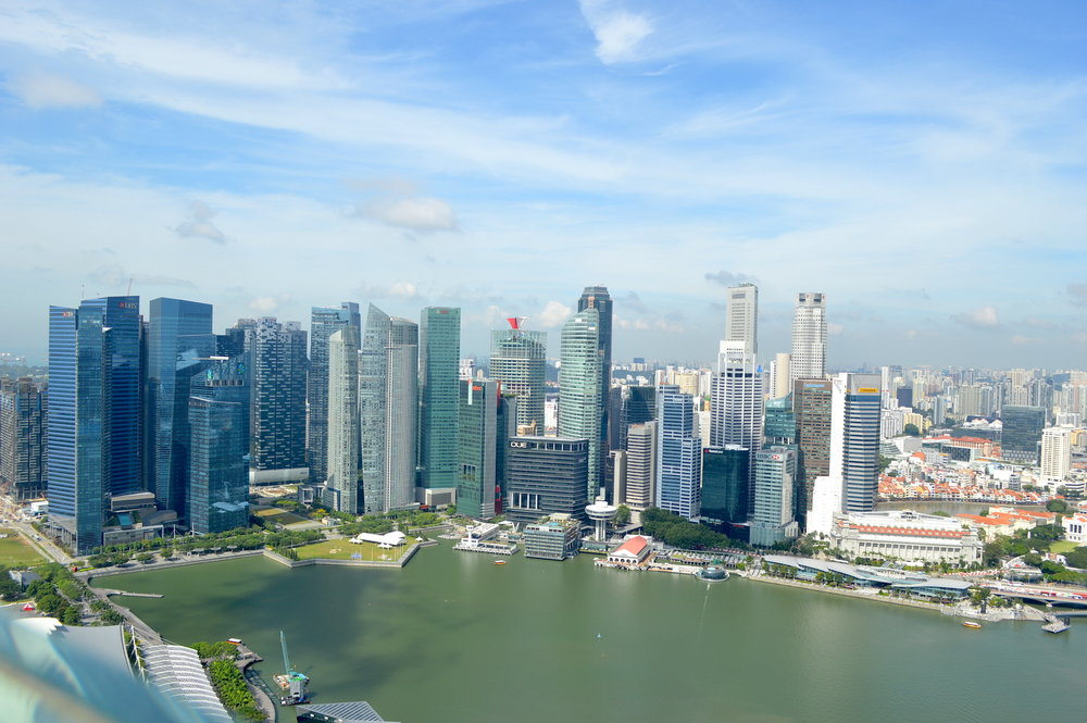 Amazing view!! Make sure to check this out on a Singapore layover - this post goes over what to do on a one day layover in Singapore