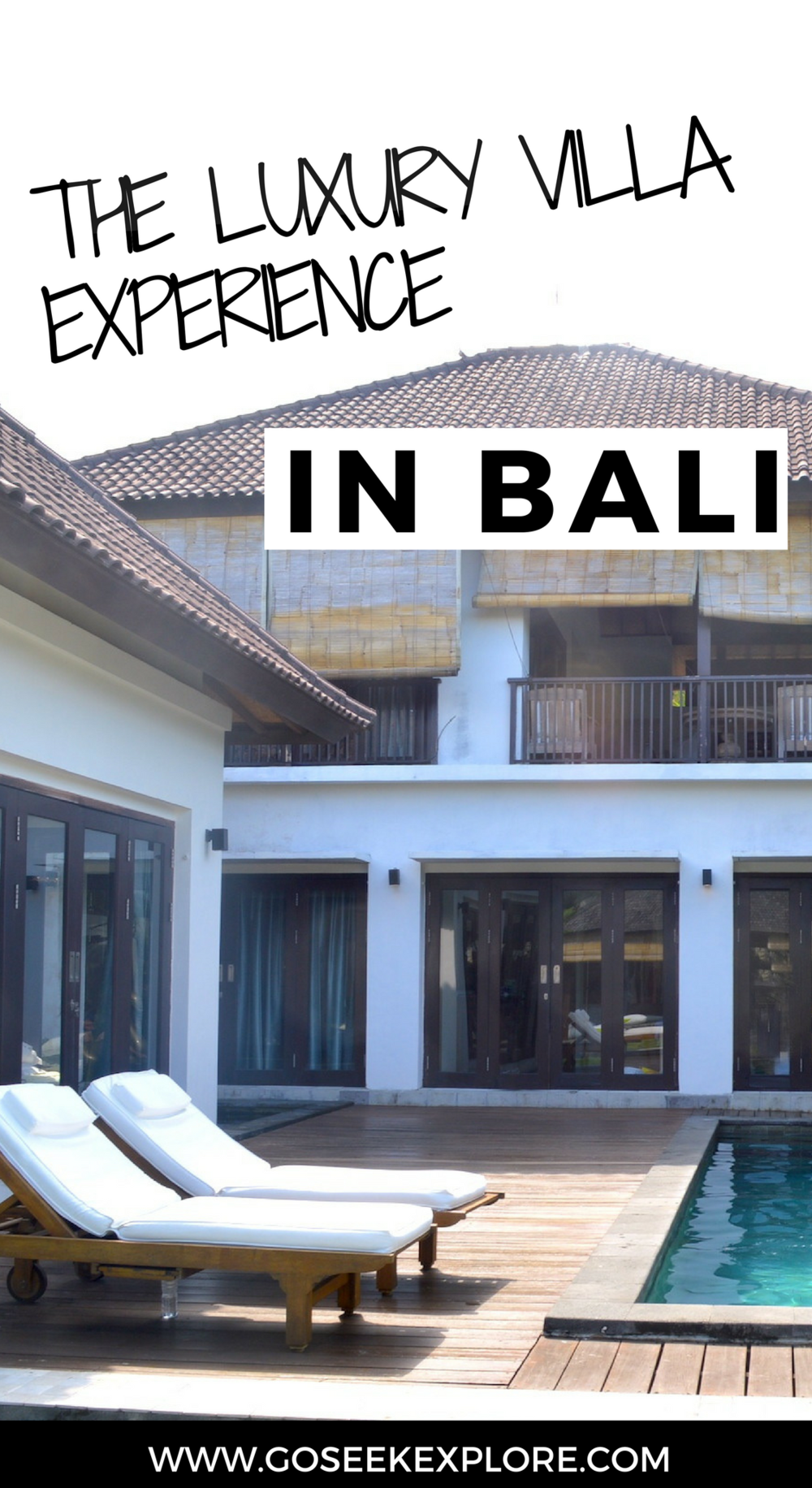 The luxury villa experience in Bali - affordable luxury travel options for groups, digital nomads, friends, and families