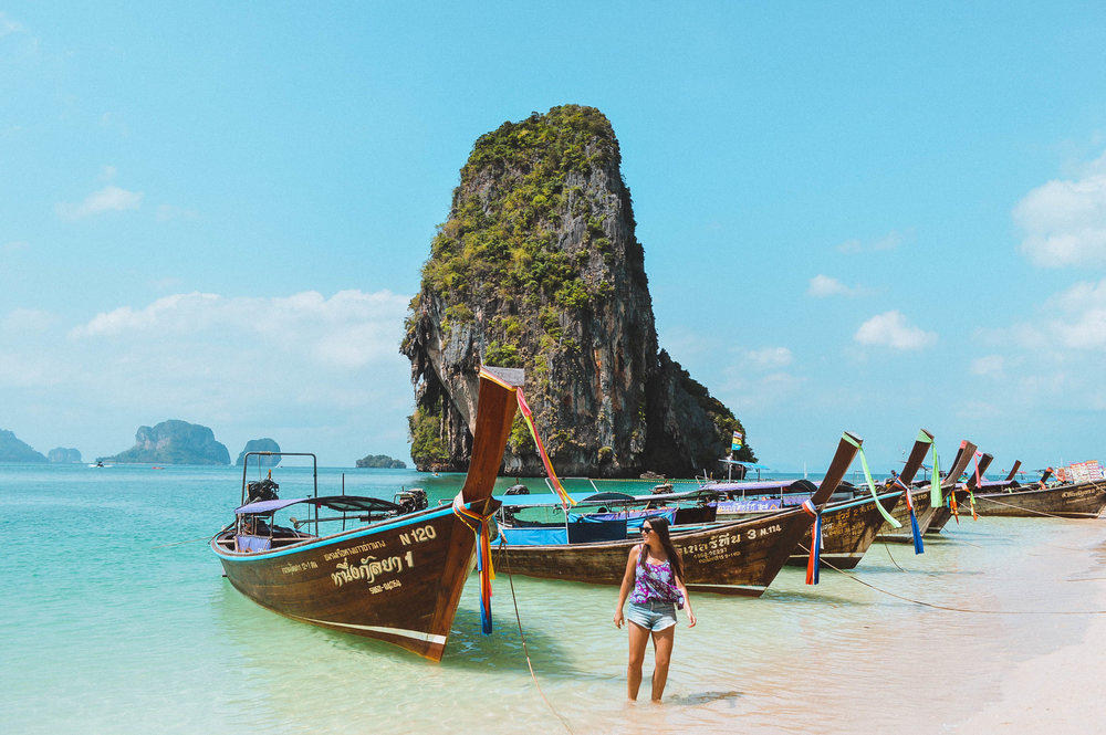 Thailand Islands Railay Travel | 2017 Travel Year in Review + Travel and Blog Goals for 2018 | goseekexplore.com
