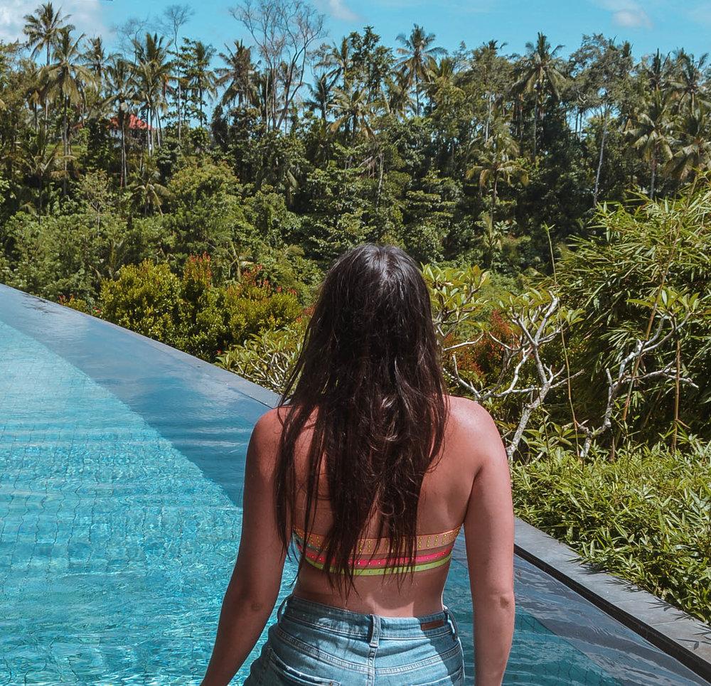 5 Things I've Learned from 5 Years of Travel - GoSeekExplore.com / Ubud-Pool-Bali