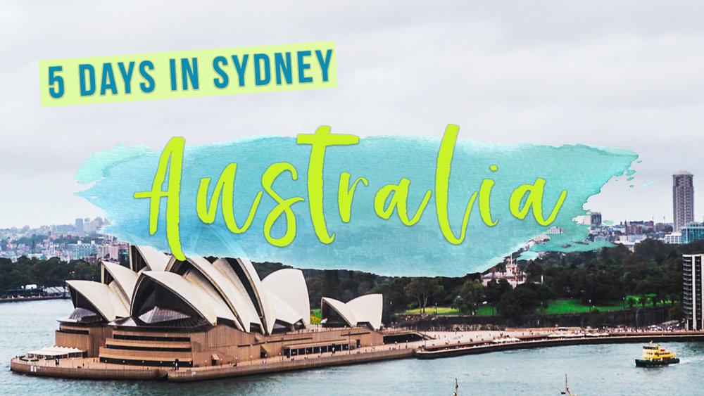 Australia-Travel-Vlog-Sydney-Opera-House / April 2018 roundup on goseekexplore.com