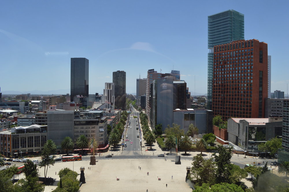 Is Mexico City safe for travelers? / View of Mexico City / goseekexplore.com