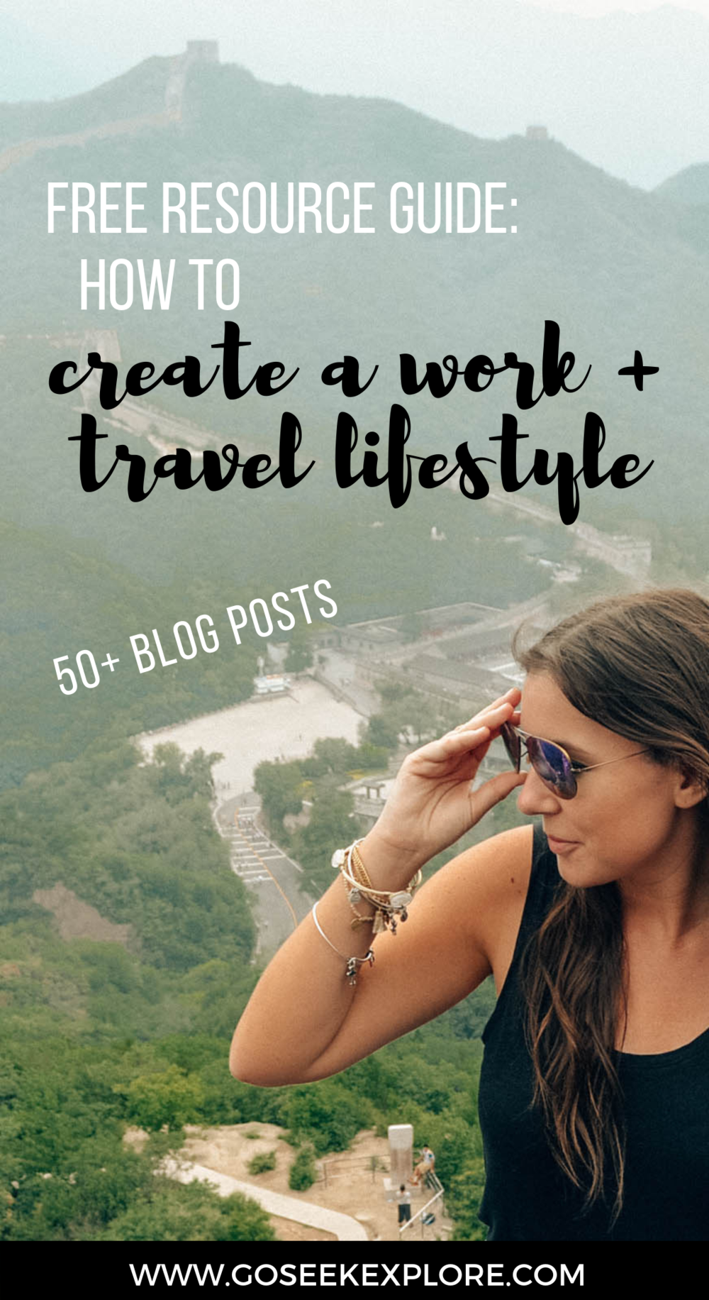Work + Travel Lifestyle Guide from GoSeekExplore.com / Learn how to make the world your office and get paid to travel (for real!) / Ally Archer