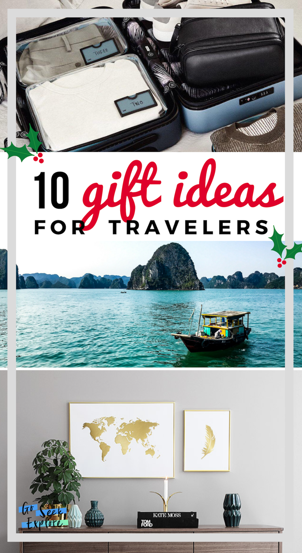 10 of the Best Gift Ideas for Travelers this 2018 Holiday Season! / goseekexplore.com / #travelgifts #holidays