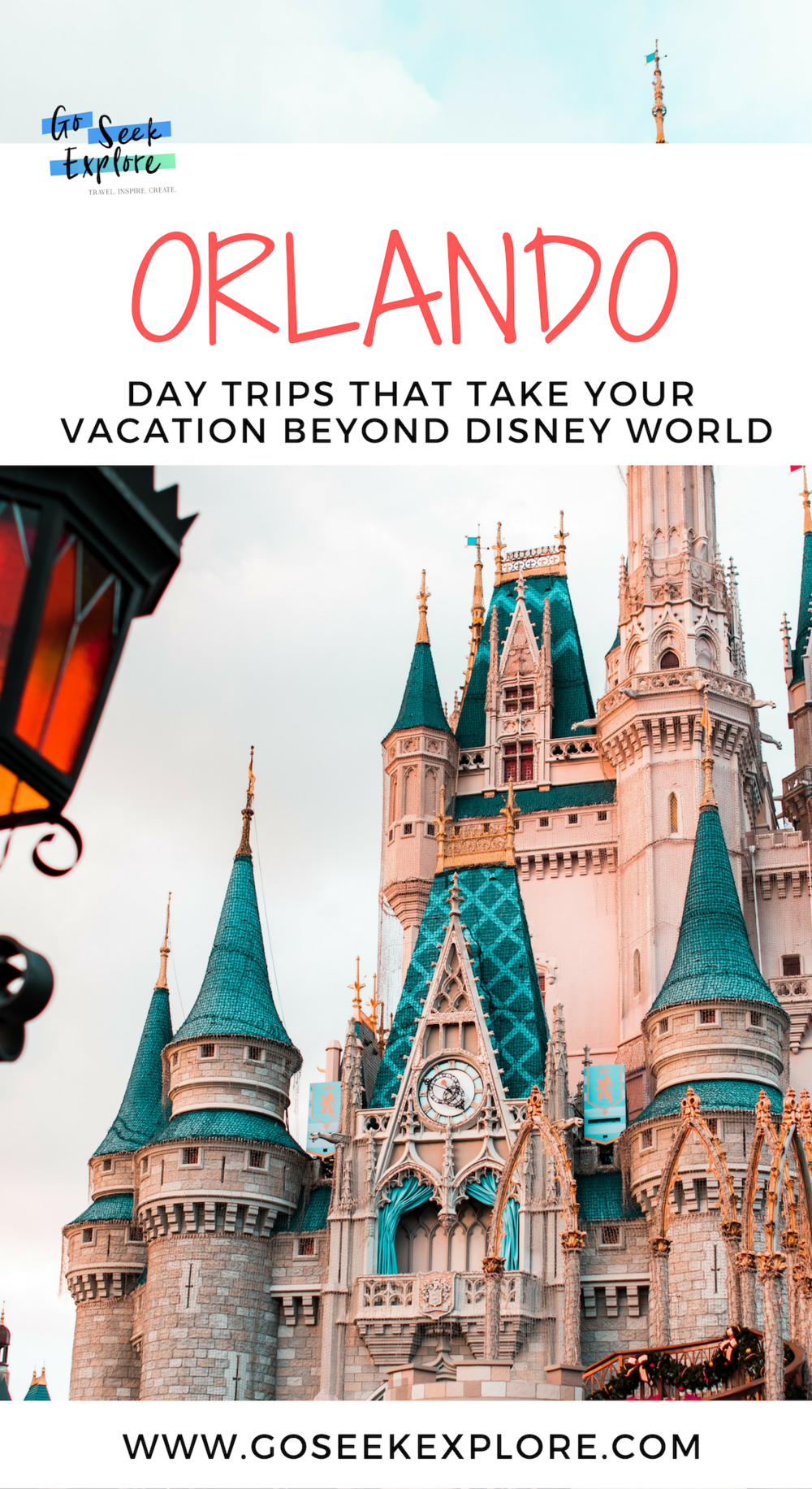 3 Fun Orlando, USA day trips that take you beyond Disney World! / goseekexplore.com / #orlando #rentalcar #traveltips