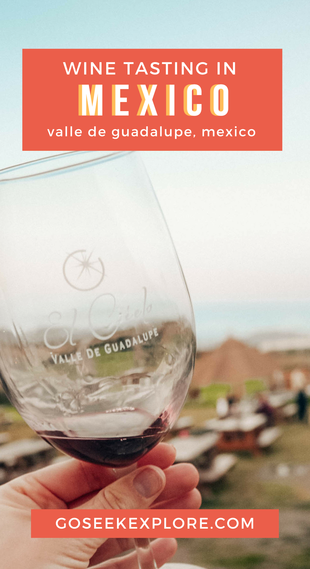 Mexico's Baja California is home to beautiful coastline AND wine! This post recaps wine Tasting in Mexico's Guadalupe Valley - two wineries we visited, plus a Frida Kahlo-inspired restaurant! #mexico #winetasting #mexicotravel #travelblogger #travelblog #bajacalifornia