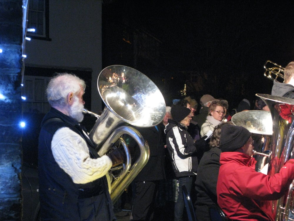 carols on the green heath band.JPG