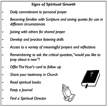 The Signs Of Spiritual Growth St Leonards Church