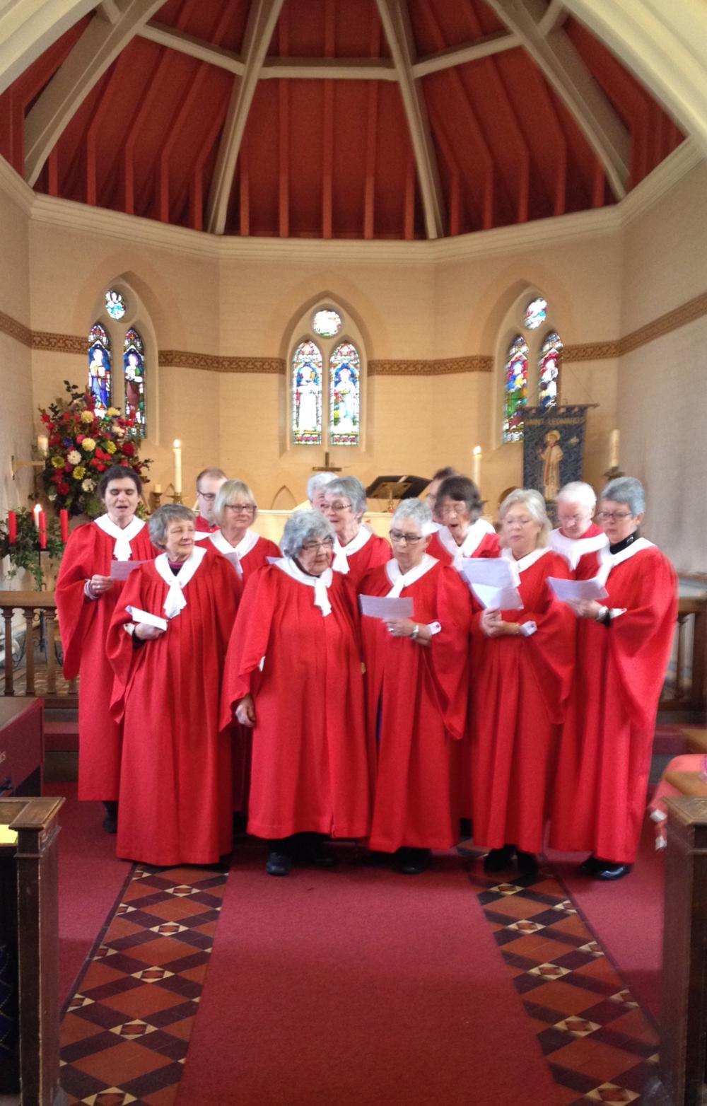 St. Leonard's Church Choir.