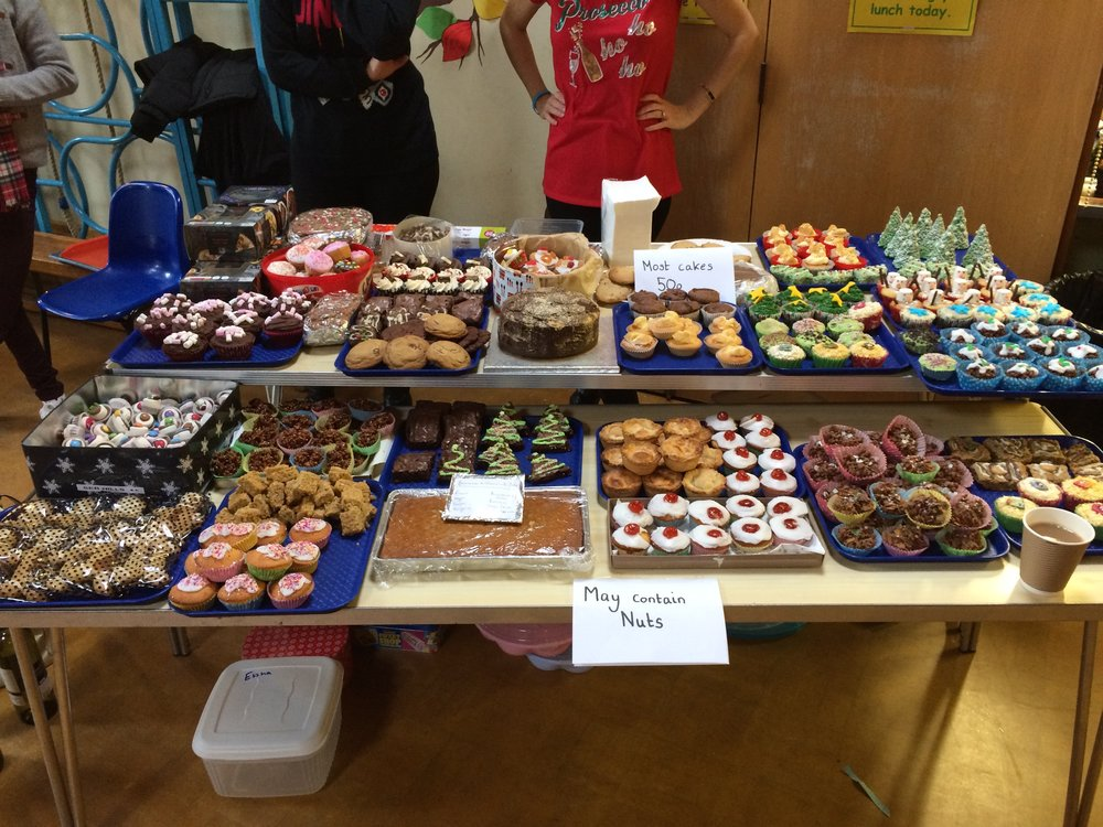 Lots of delicious looking cakes!