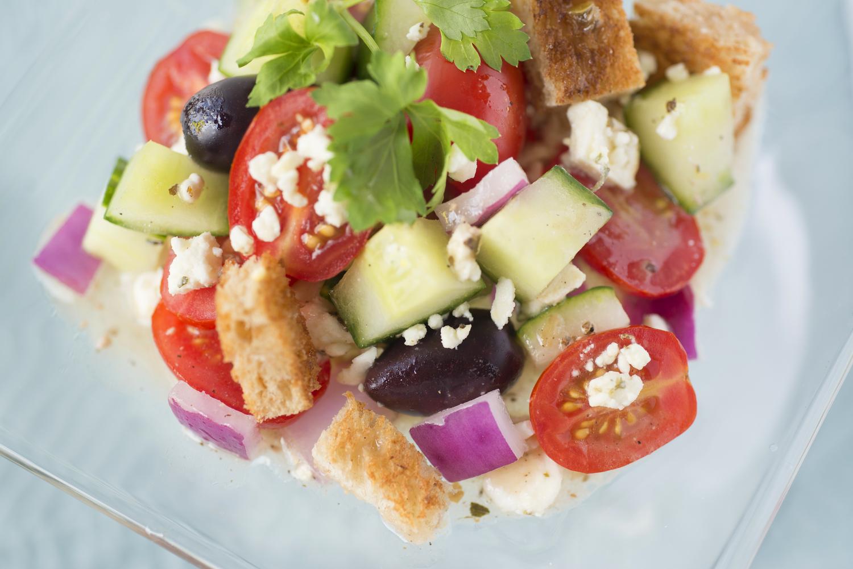 Greek Panzanella greek panzanella — breadsense
