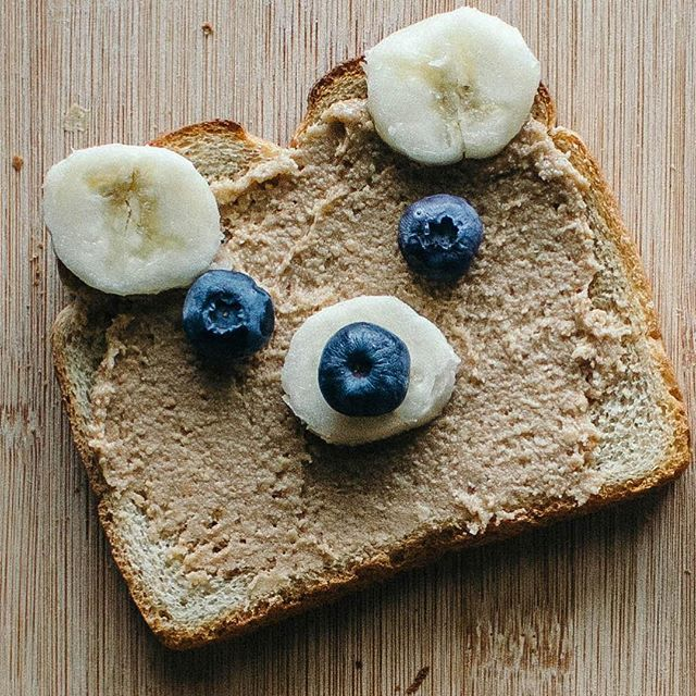 A breakfast that is almost as cute as your kids! (Recipe link in bio.) #ToastTuesday