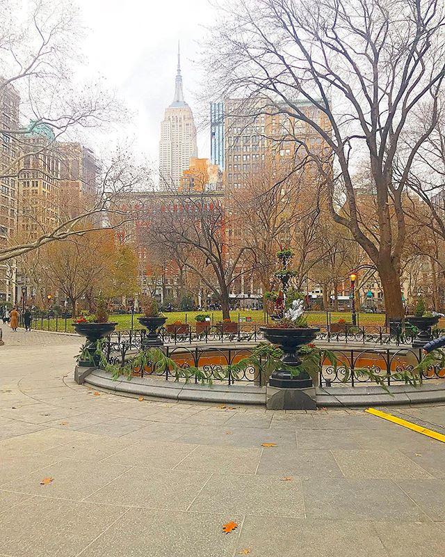 Madison Square Park, NY.