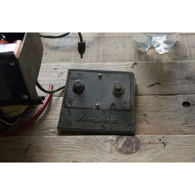 Original 1962 Ampeg R-12-R Footswitch. #tubeamp #vintagegear #restoration