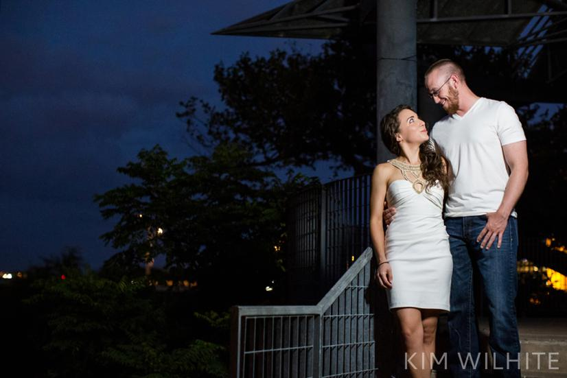 downtown austin engagement session