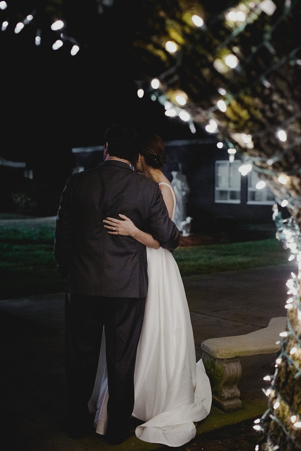 Bride and groom picture