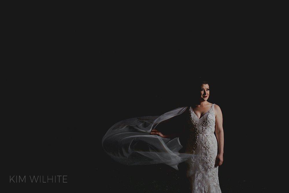 Dark Bridal Photos