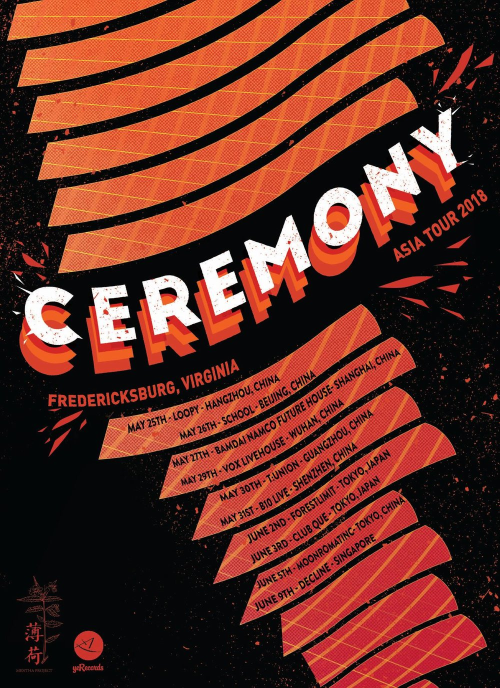 Ceremony 2018 Asia Tour
