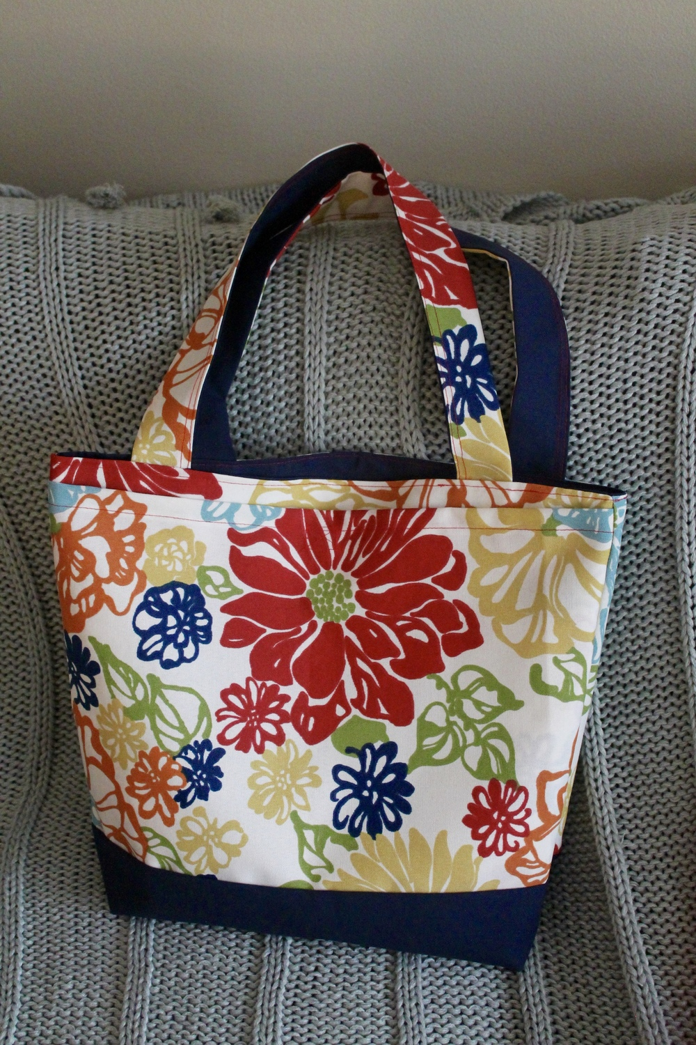 Dana Made It pattern tote bag