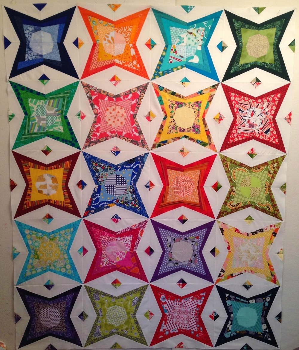 Star Stuff (pattern by  Sam Hunter )