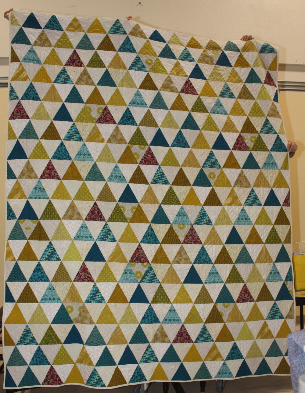 Dawn Graf-Thiessen    Mary Fon's Whisper Quilt Top