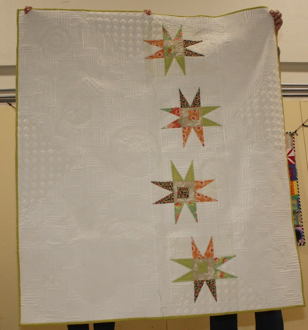 Coleen Barnhardt, The Quilted Thistle    Thequiltedthistle.com    Reach for the Stars
