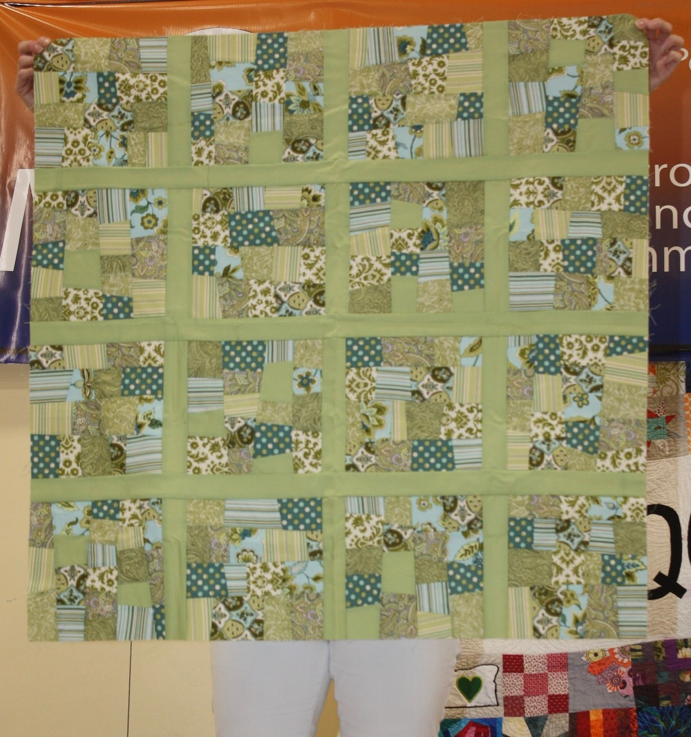 Marika Zimmerly-Beck  Green Map of the States, pattern by Elizabeth Hartman  @stumptowncrafter