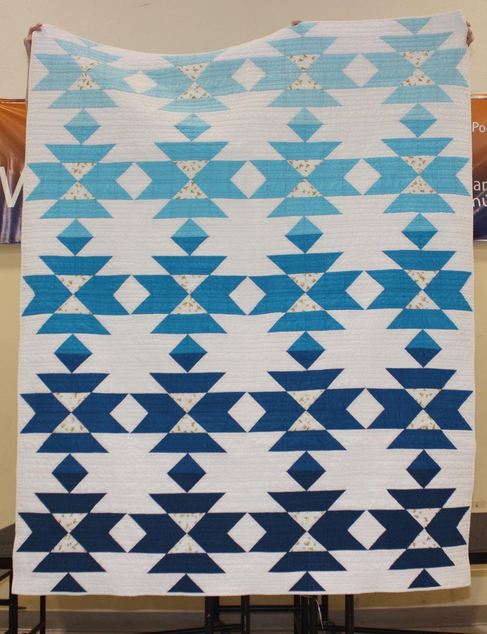 Jennifer Ballard  Pattern: Squash Blossom  @hoorayforrain