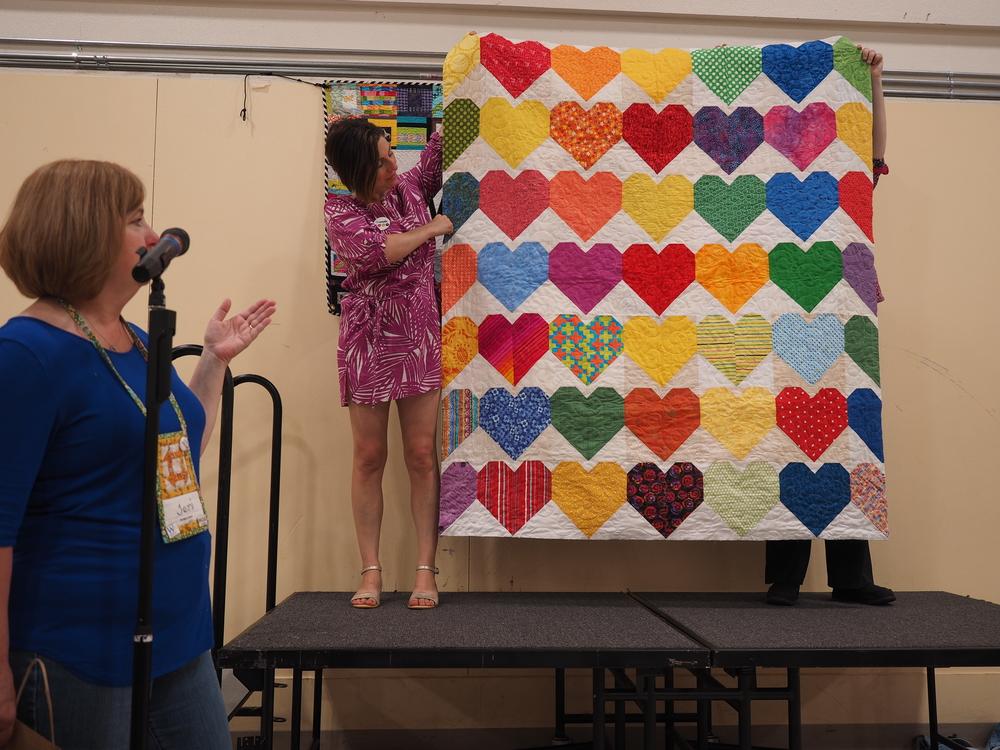Lori Chandler  One Pulse  @mrslorichandler  Charity Quilt for Pulse