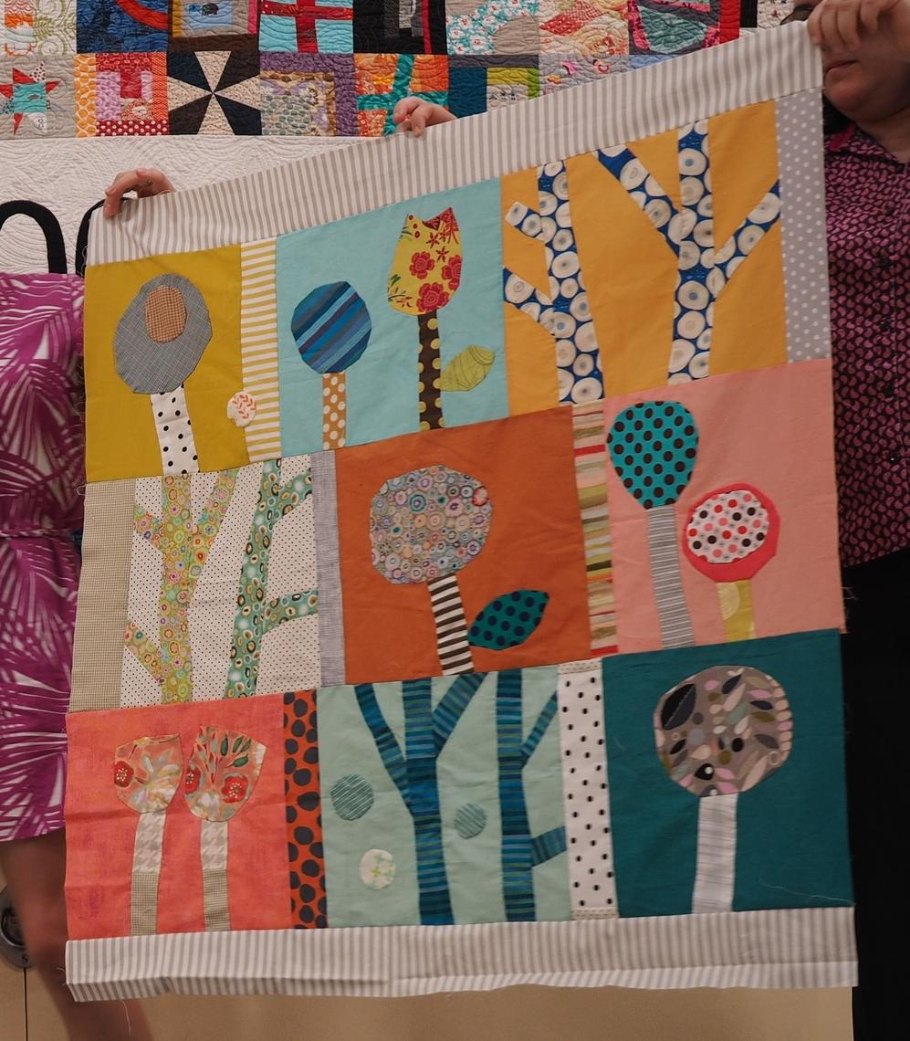 Holly Fujioka  Bonnie Quilt  @hollyfuji  Pattern: Bonnie Hull