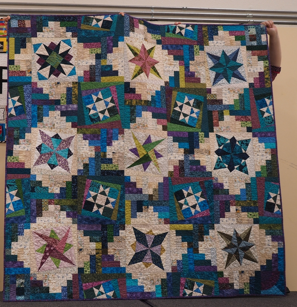 Laurie Tolson  Pattern: Sharon Kraig