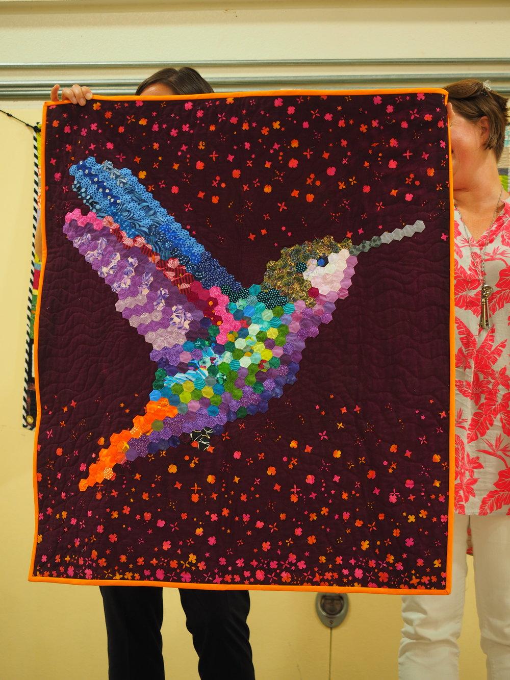 Gail Weiss  @gweiss23  - Hexie Hummingbird   gaillizette.com