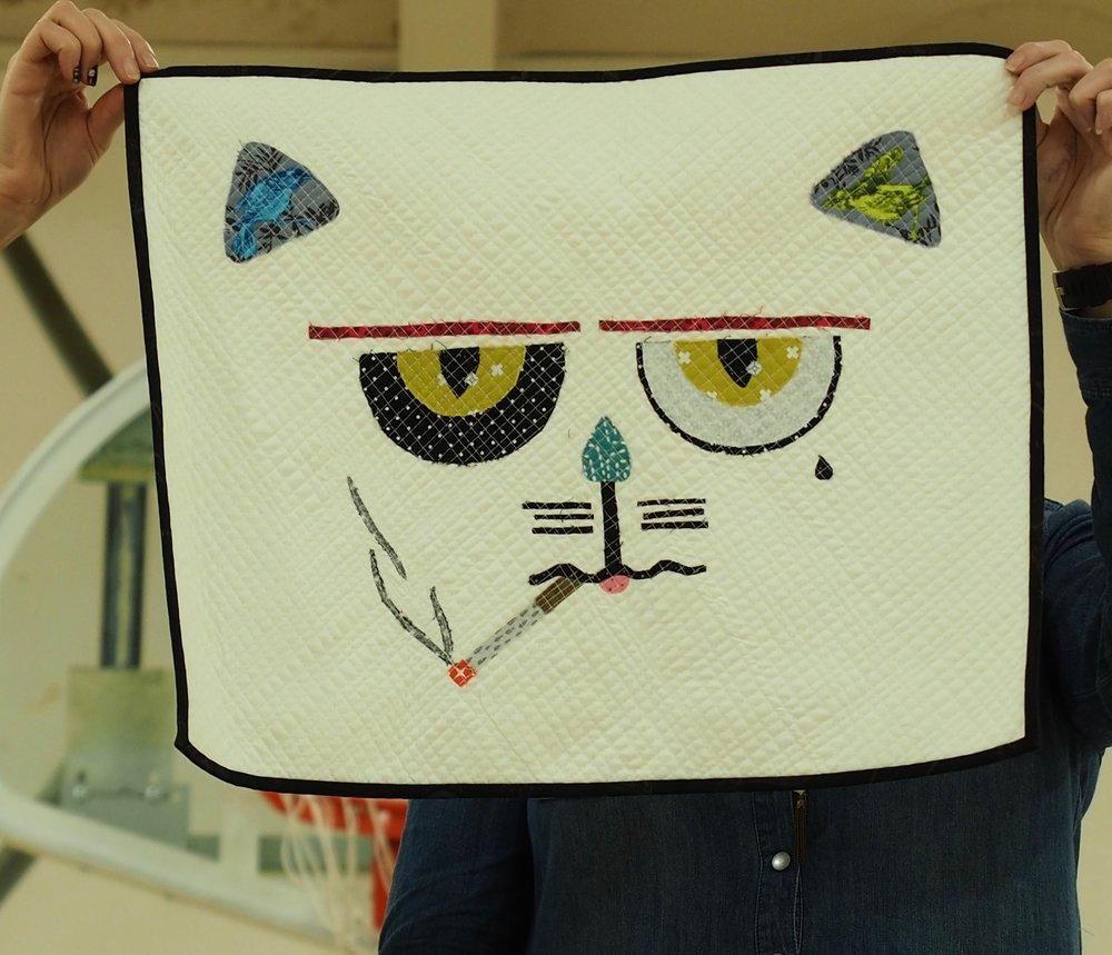 The Cat by Monica Solario-Snow